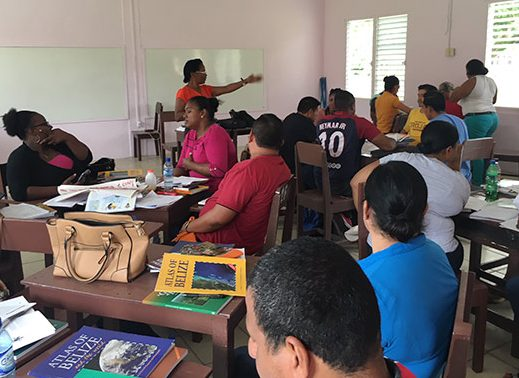 Cubola provides Belizean teachers resources and workshops