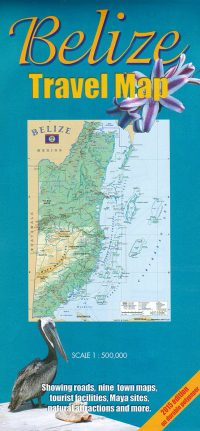 Belize Travel Map 2016 Waterproof Edition